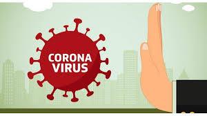 immagine con disegno di virus coiv-19